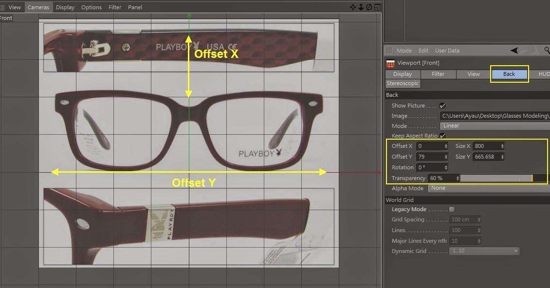 Glasses Modeling 02