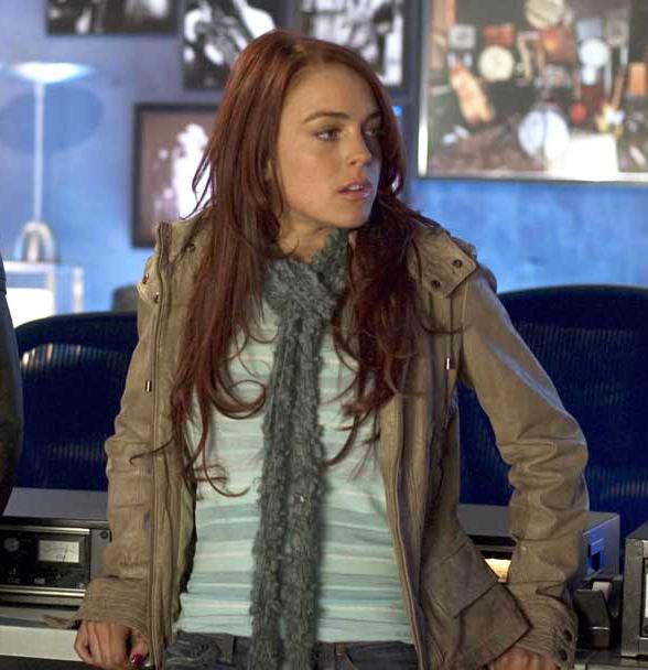 Lindsay Lohan cabello rojo - Ximinia