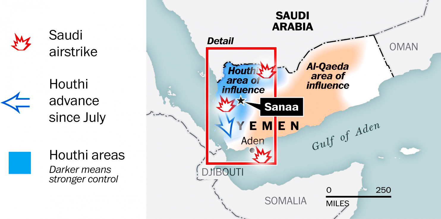 Image result for Turmoil in Yemen and it signioficanse in Saidi