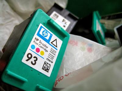 Струйный картридж марки HP