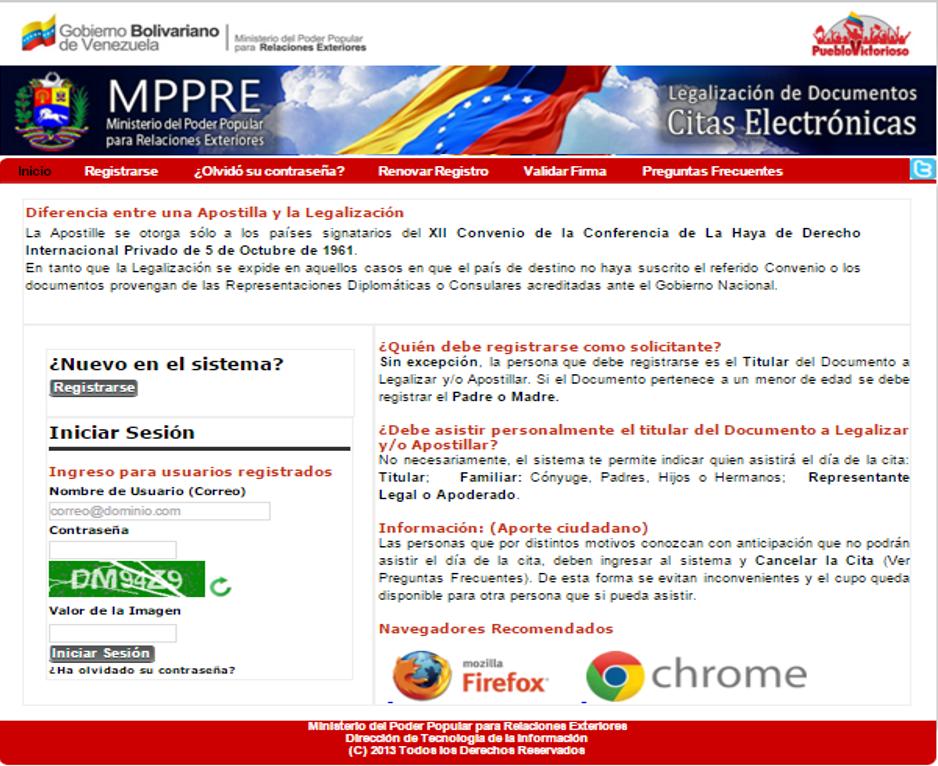 Documentos Para El Exterior Caracas Venezuela Paso 3 Ministerio Del Poder Popular Para