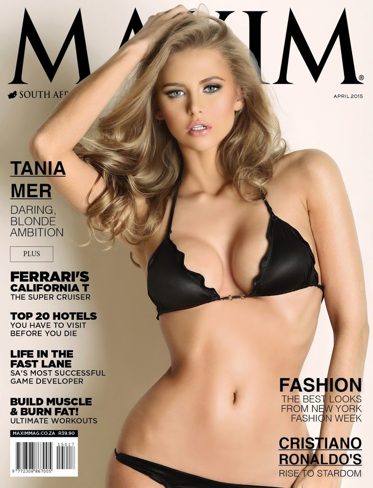 Tania Mer - Maxim South Africa, April 2015