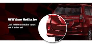 New Rear Reflector Grand New Veloz