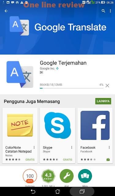Aplikasi Google Translate Kini Bisa Baca Tulisan Lewat Kamera