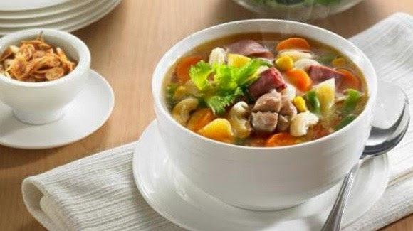 Sup Daging Asam Pedas