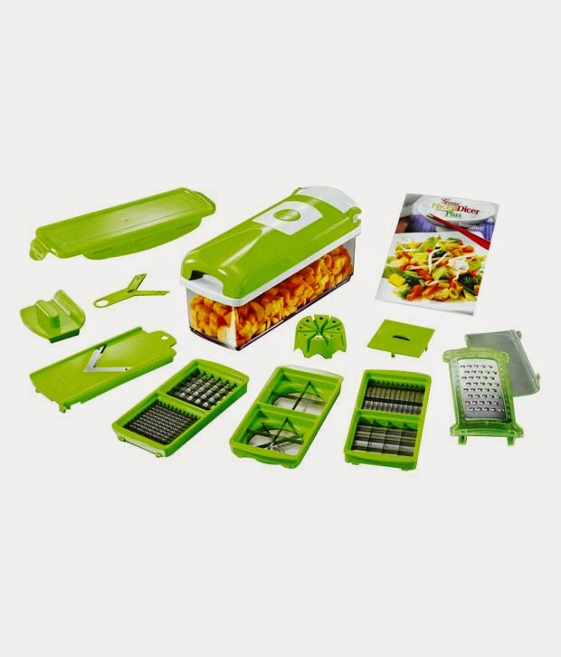 Buy Urban Living Multifunctional Dicer –cuts, chops, grates and slices at Rs.469  : Buy To Earn