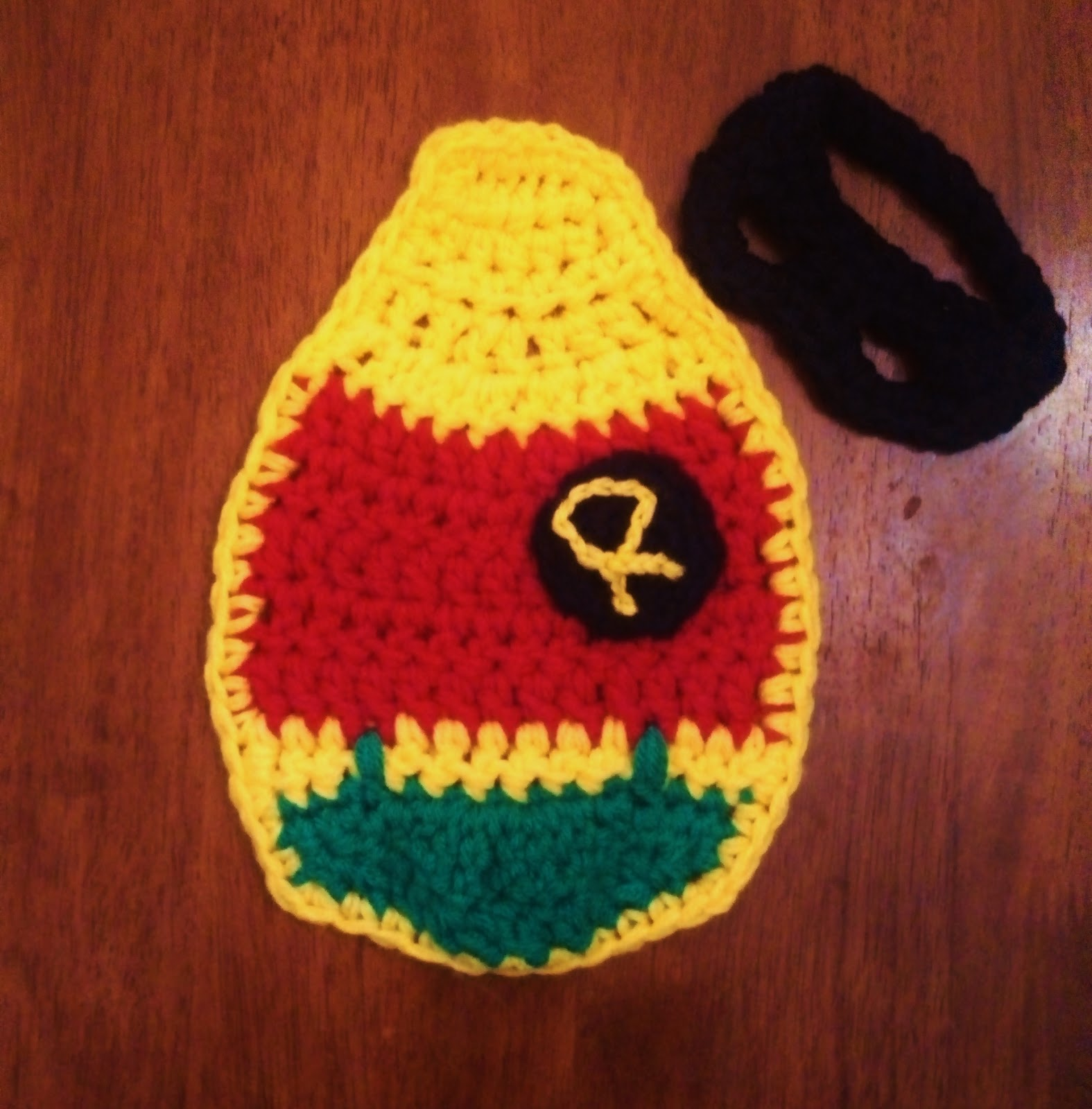 Baby Batman Robin Crochet Patterns