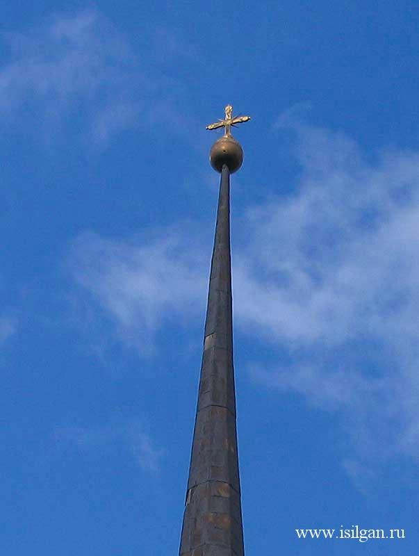 Храма святого пророка Илии в селе Огневское. Челябинская область.