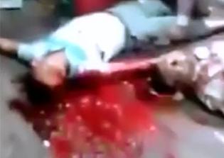 Asesinados Durante un robo a una Carnicería