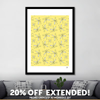 When it's good, keep it going: 20% OFF all my art prints is extended til Friday!
