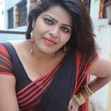Sitara Hot Photos in Saree at Gundello Guchi Guchi Champake Movie Press Meet 103