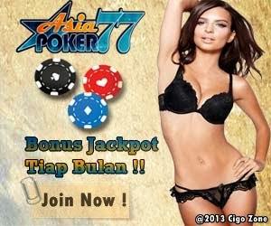 Hasil Sementara Asiapoker77 Bonus Jackpot Plus Tiap Bulan