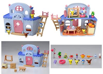 Pokemon Mini Figure Pita Poke DX House Tomy