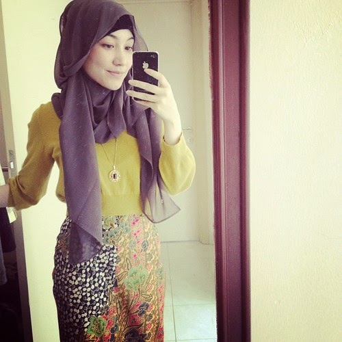 Model hijab trendy