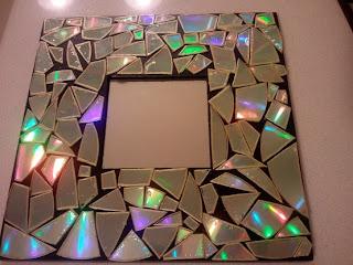 frame, mosaic, cds