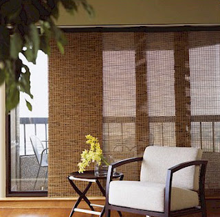 Drapes bamboo window panels curtains sliding panel jpg