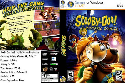 Scooby-doo! First Frights PC DVD Capa