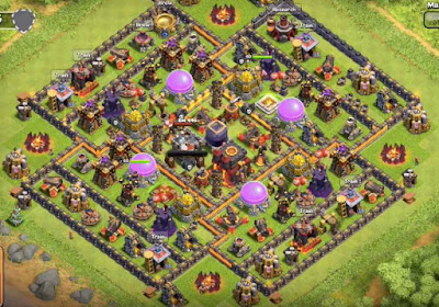 Base Farming Design 2016 TH10