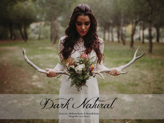 DARK NATURAL - Editorial Mi Boda Rocks & Blog Mi Boda