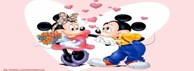 Couverture pour facebook mickey