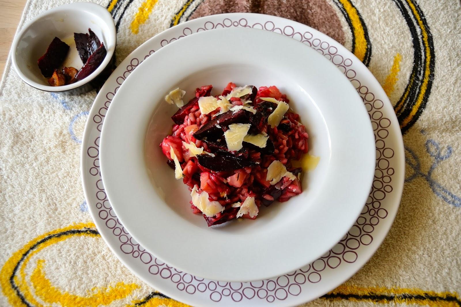 Risotto de remolachas asadas cocinar para nutrir for Cocinar remolacha