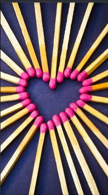matchstick heart zedge wallpaper