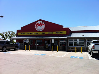Rudy's Country Store Bar-B-Q BBQ Barbecue Barbeque Denton Texas