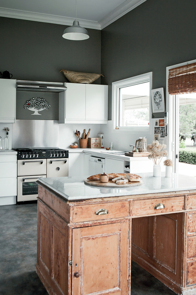Modern rustic kitchen design chic frog hill designs blog for Country living modern rustic issue 4