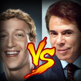 MARK ZUCKERBERG VS SILVIO SANTOS