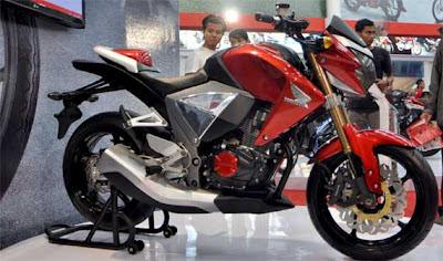 Modifikasi Honda New Megapro Merah