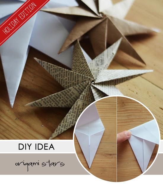 Diy Origami Stars My Paradissi