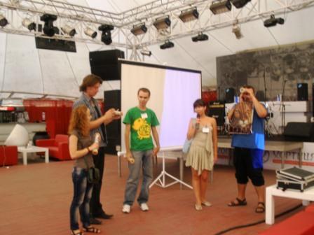 Награждение Blogcamp 2011