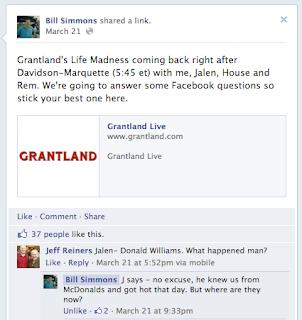 Nouvelle organisation des commentaires Facebook