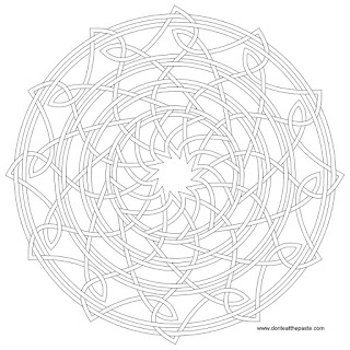knot and rings to print and color in jpg and transparent PNG versions
