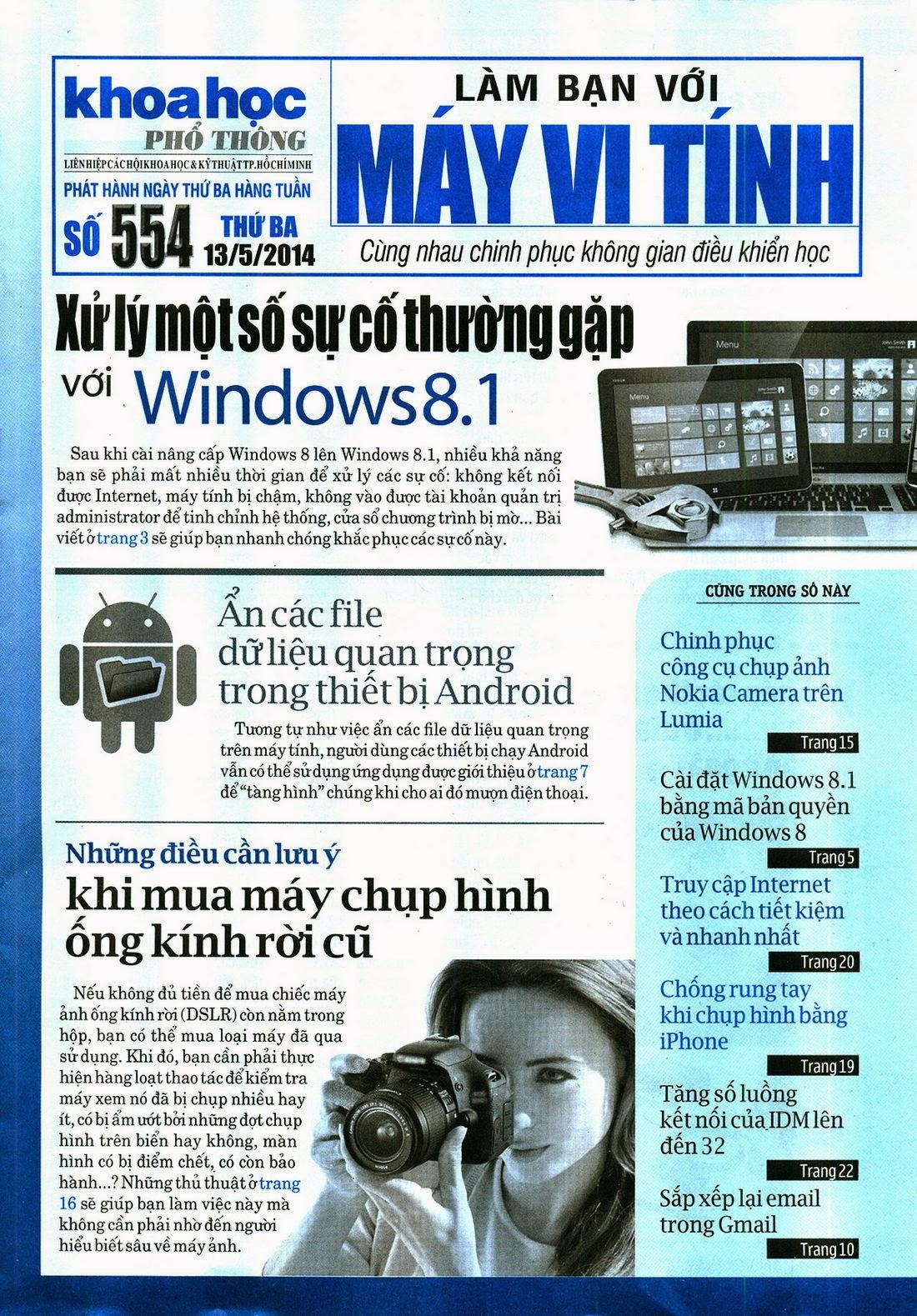 Làm Bạn Với Máy Vi Tính – 554 - tapchicntt.com