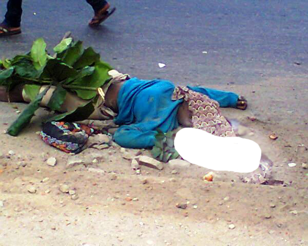 woman crushed to death oshodi lagos