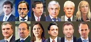 luxos governo banco portugal