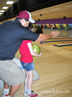 Aiming the bowling ball