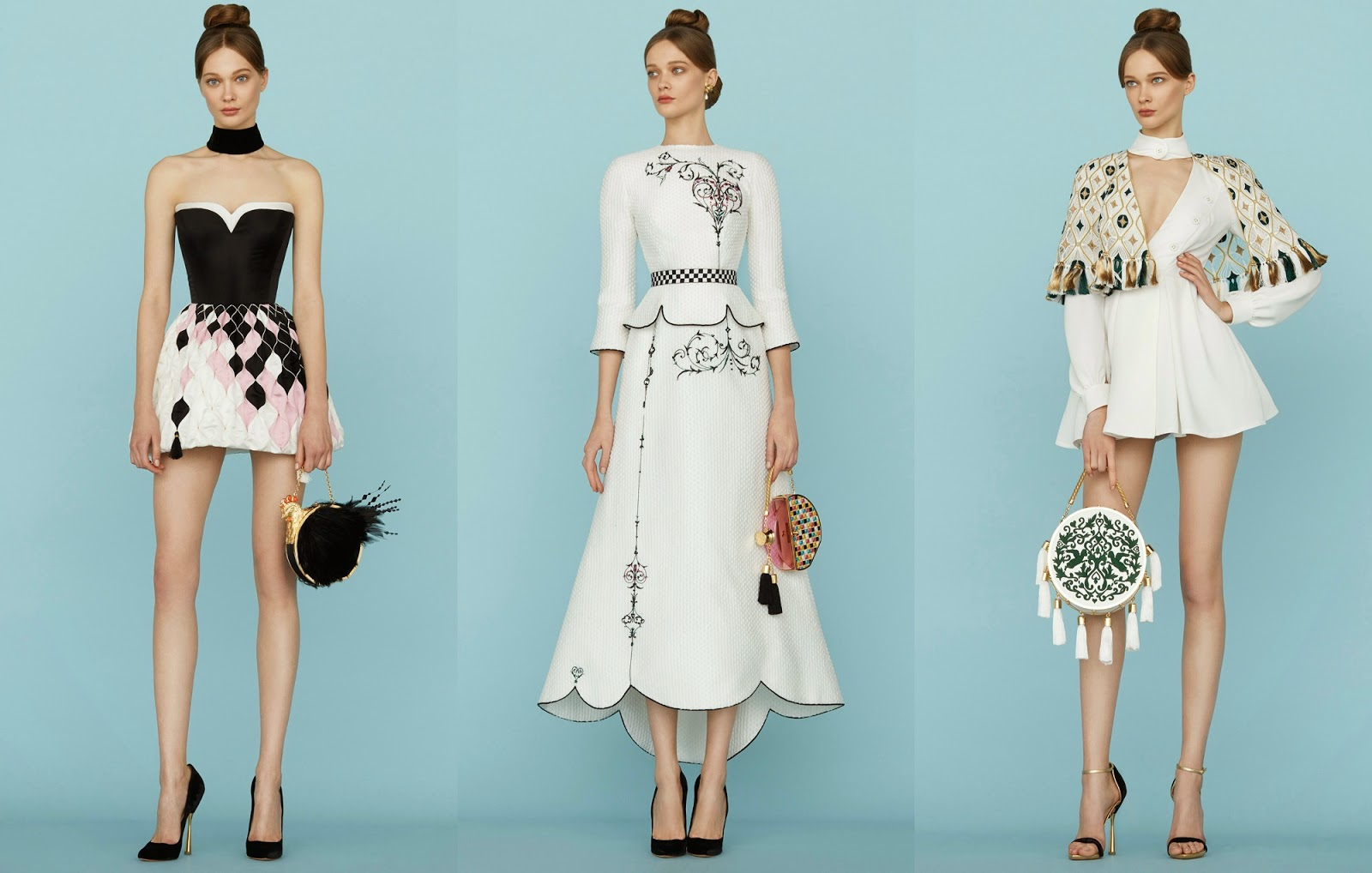 Ulyana Sergeenko | Haute Couture Spring 2015.