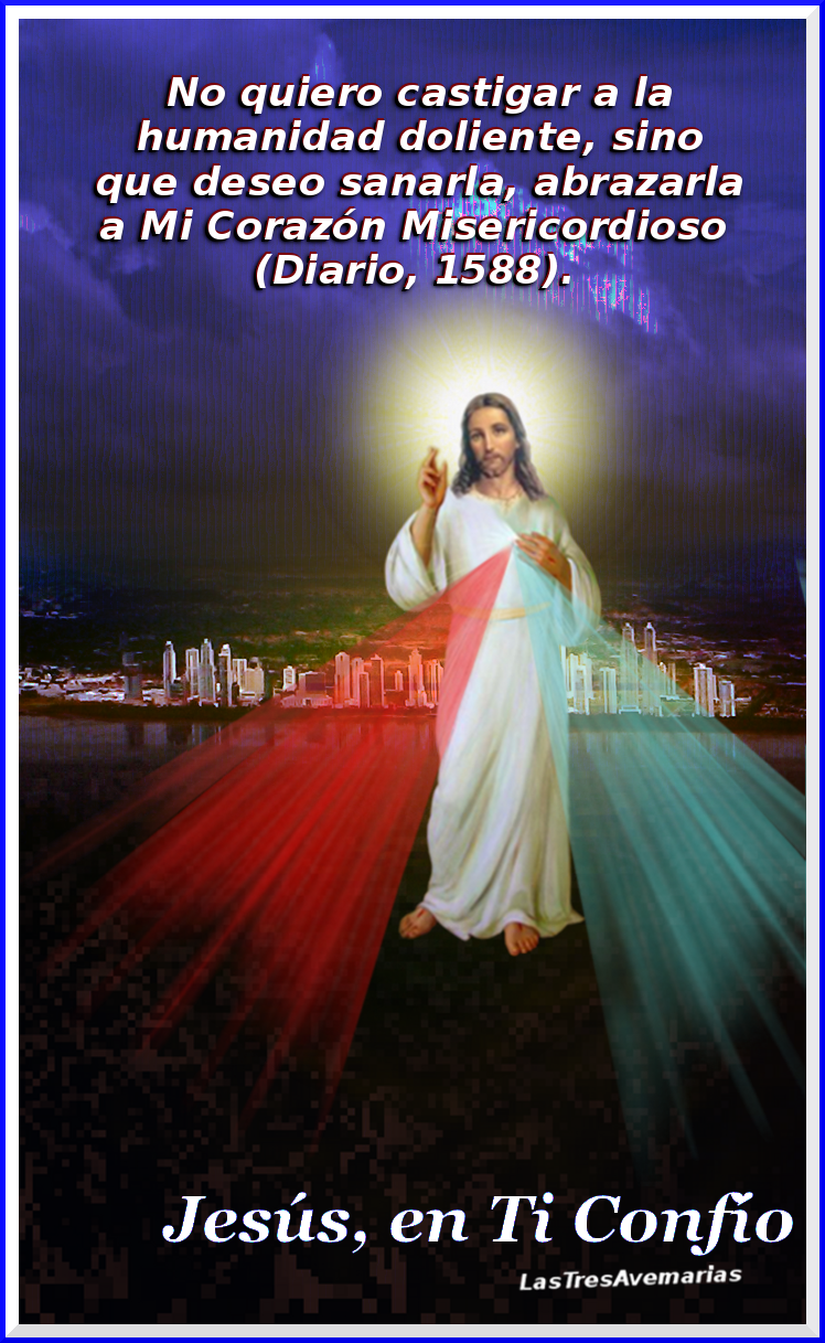 imagen de jesus misericordiosos con mensaje