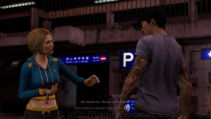 Amanda introduces herself to detective Wei Shen