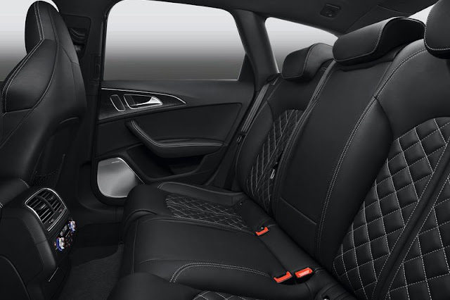 2013 Audi S6 Avant Back sit Interior
