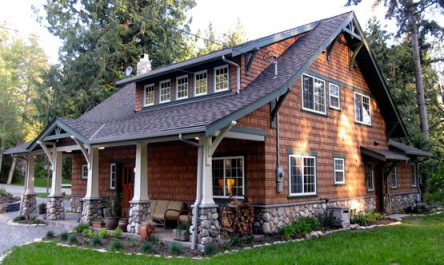 Beyond the aisle home envy log cabins for Craftsman log home plans