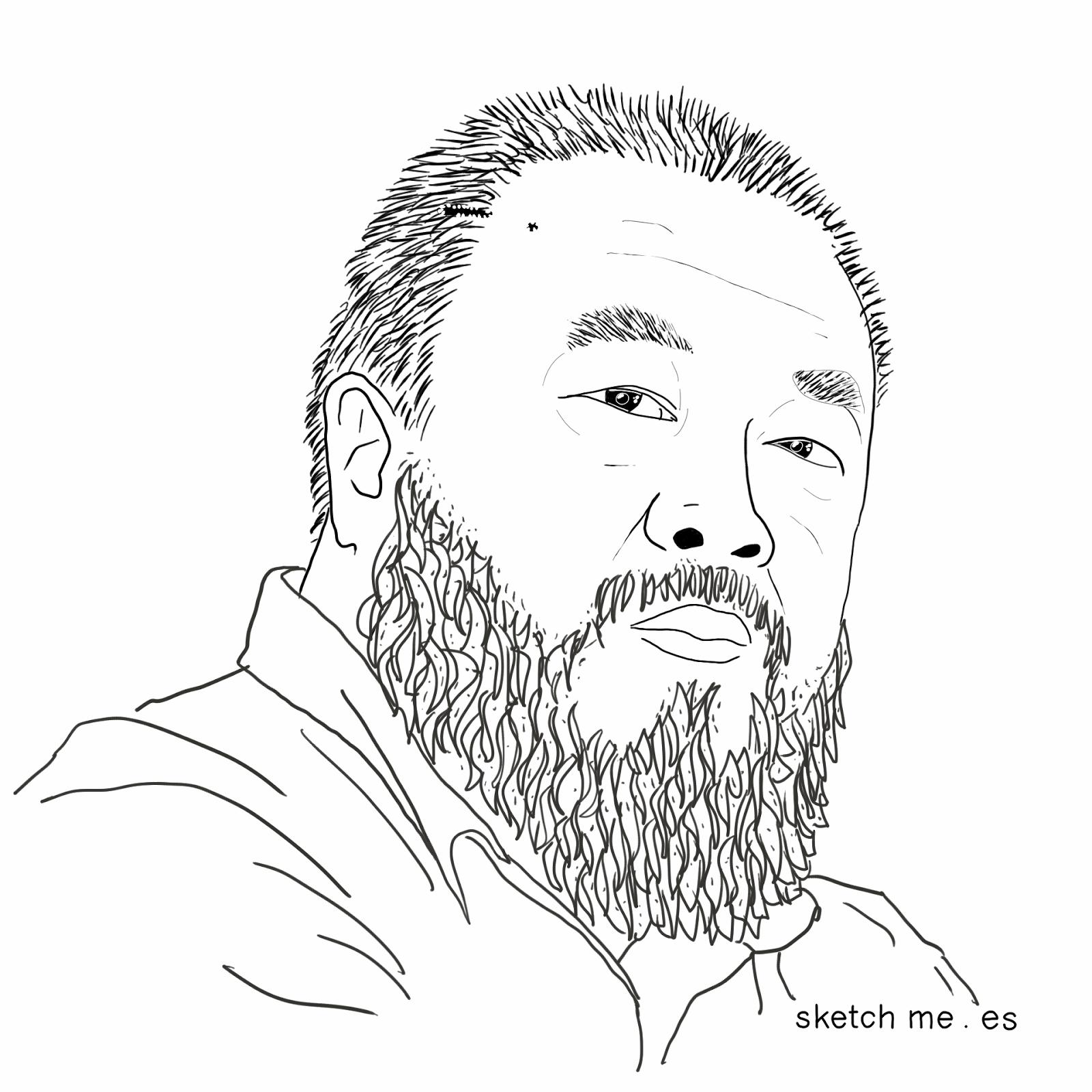 ai-weiwei-sketchme-custom-portraits-retratos-personalizados