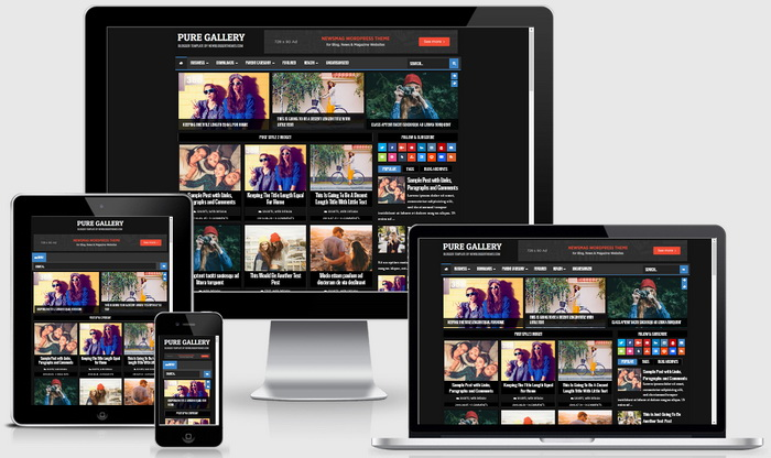 Pure Gallery Blogger Template