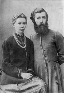 Леся українка з братом михайлом