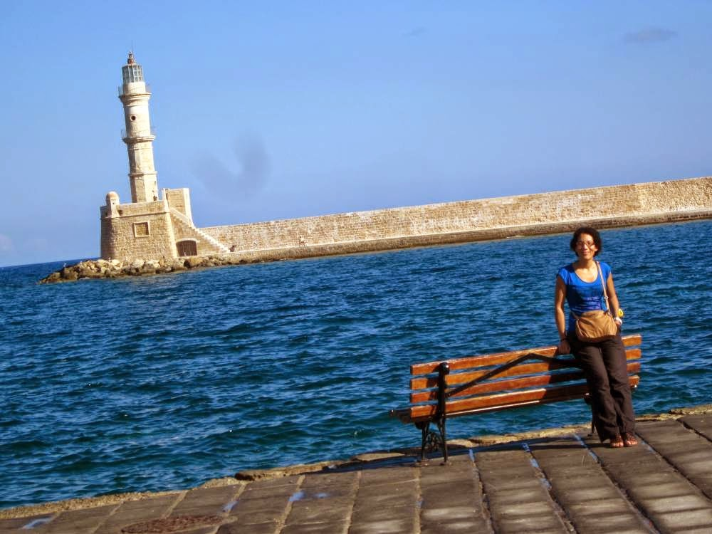 Lighthouse of the Venetian Port in Chania