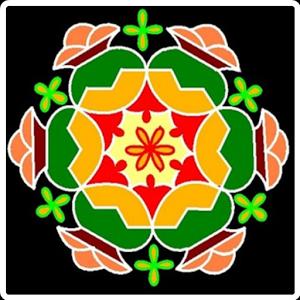 Teluginti Muggulu: Colorful Rangoli - 7