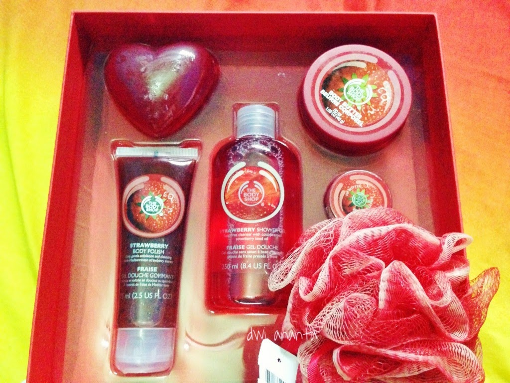 the body shop paket
