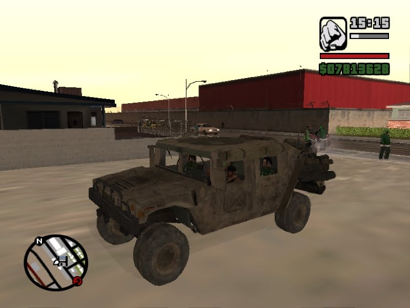 Gta San Andreas Army Vehicle Mods Video Clip | Apps Directories
